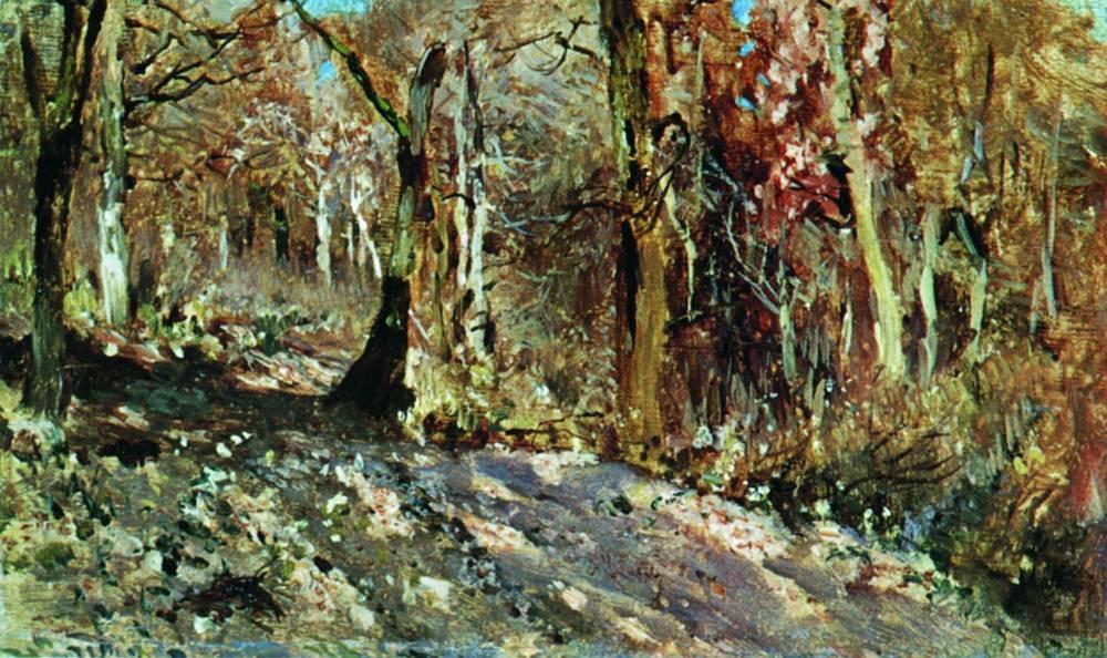Осенний лес. 1886