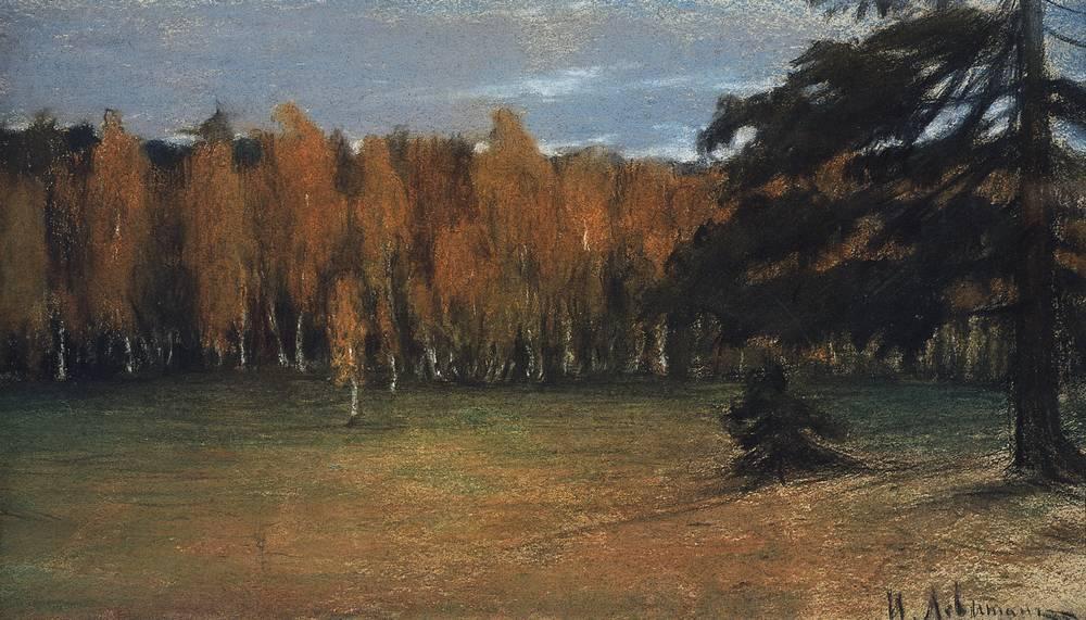Осенний пейзаж2. 1890-е
