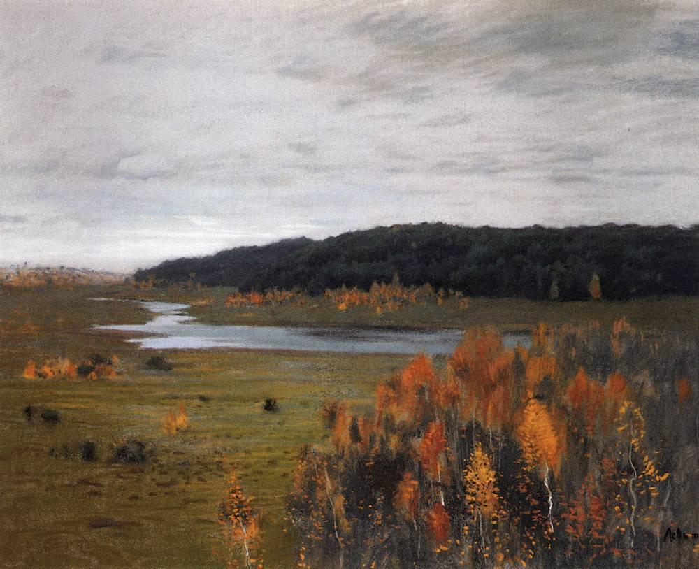 Осень. Долина реки. 1896