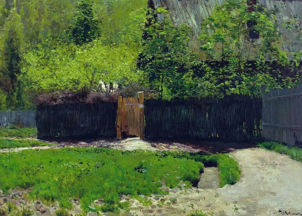 Первая зелень. Май. 1883-1888