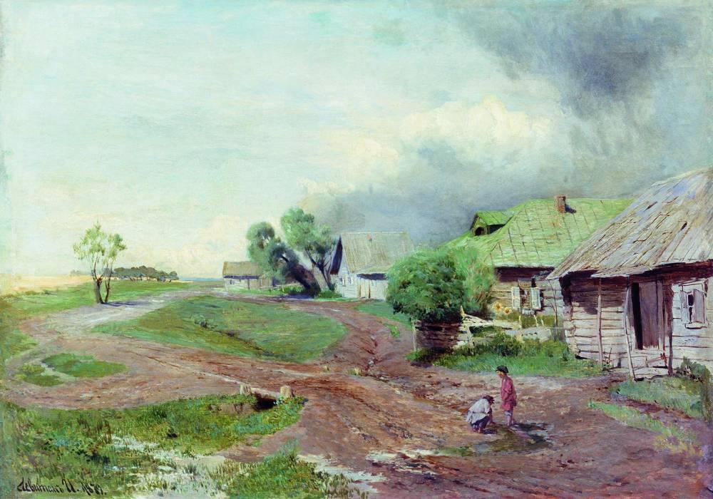 Перед грозой. 1879