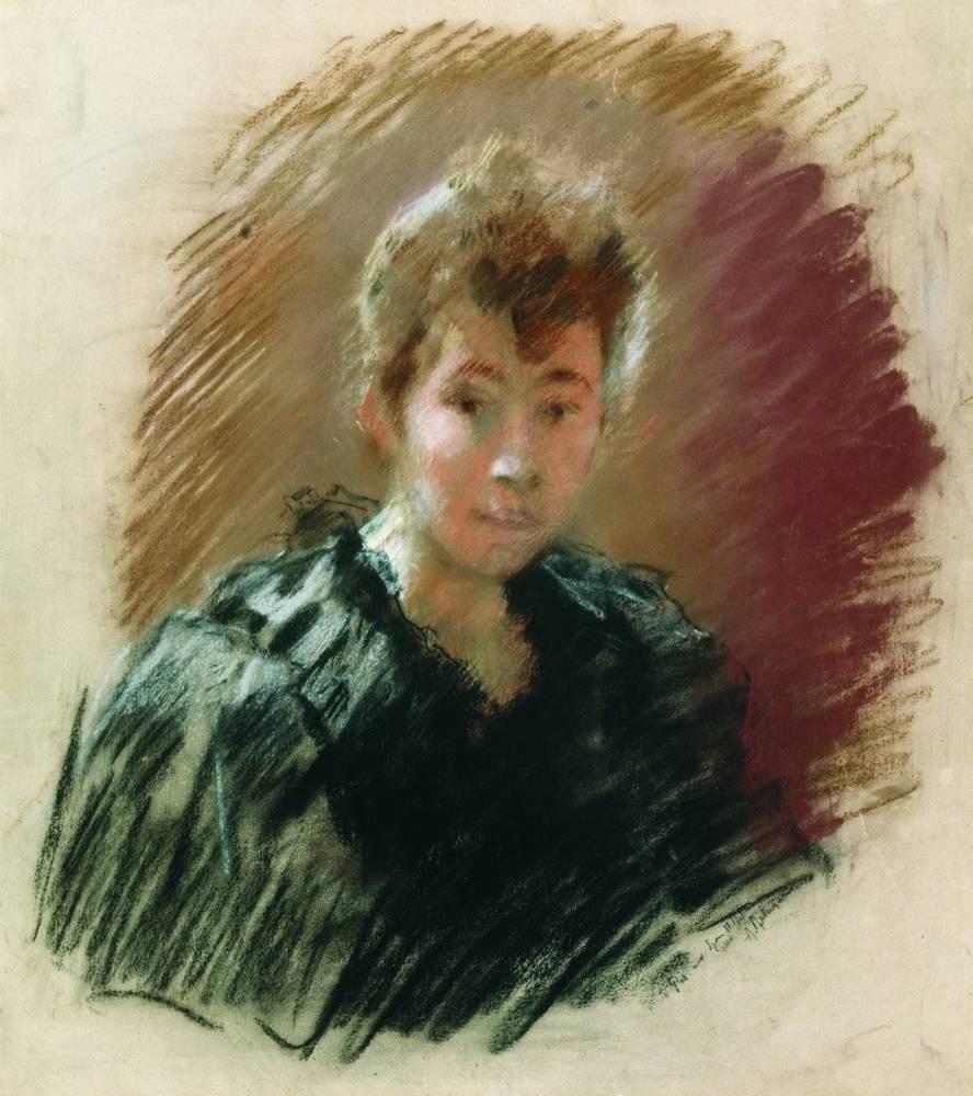 Портрет С.П.Кувшинниковой. 1894