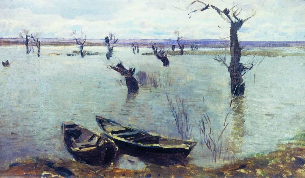 Разлив. 1887