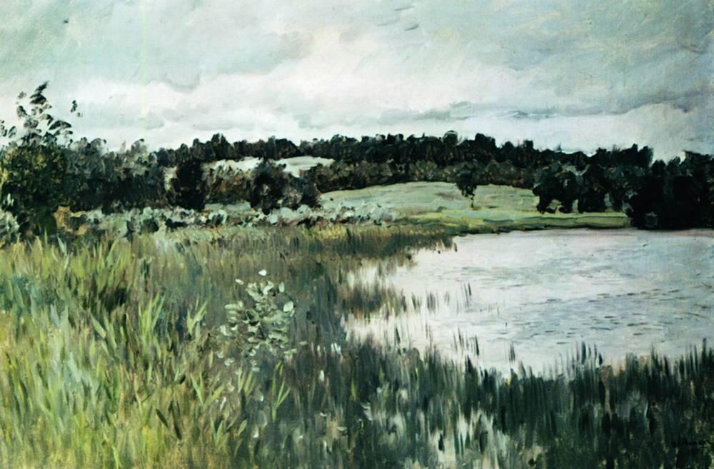 Серый день. 1895