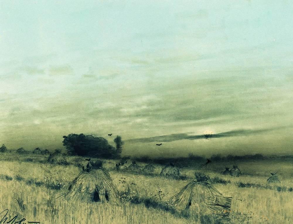Сжатое поле. 1880-е