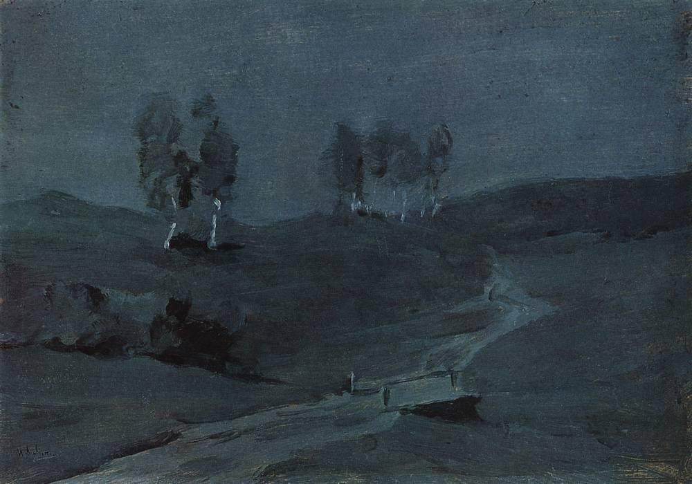 Тени. Лунная ночь. 1880-е