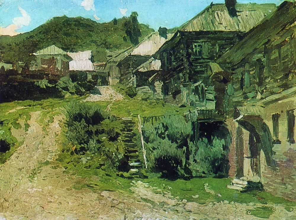 Уголок в Плёсе. 1888