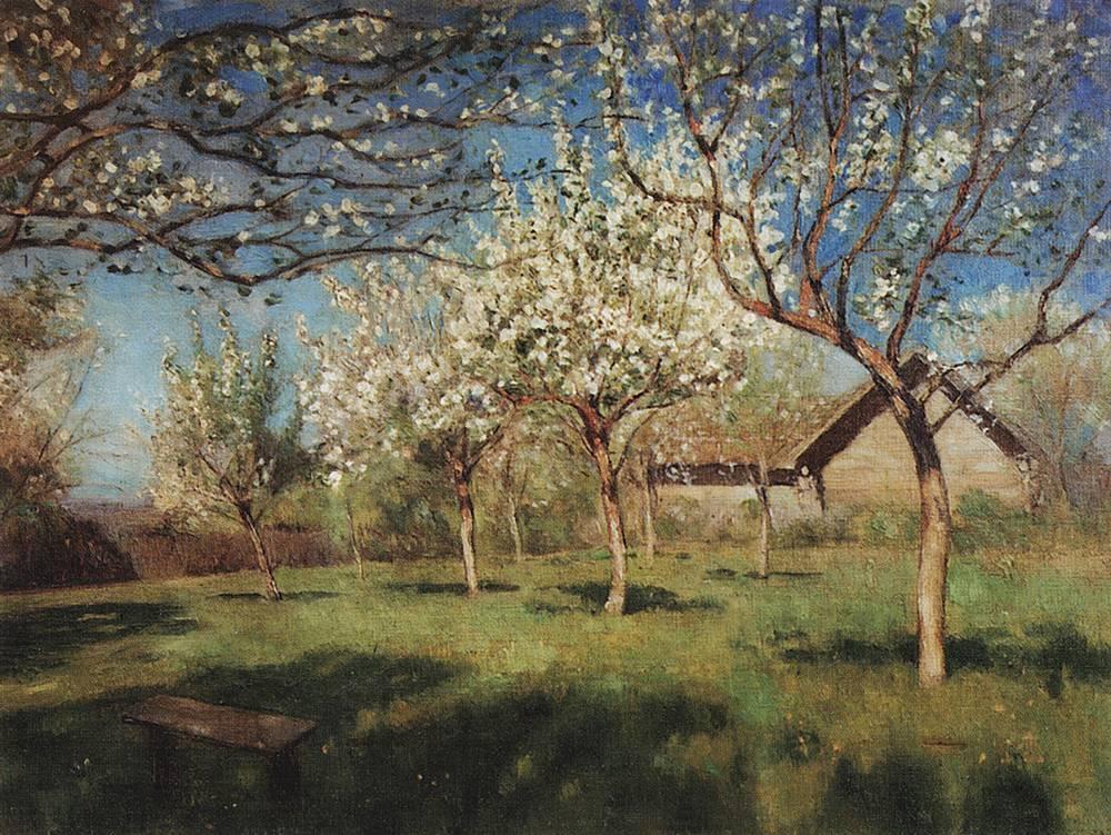 Цветущие яблони4. 1896