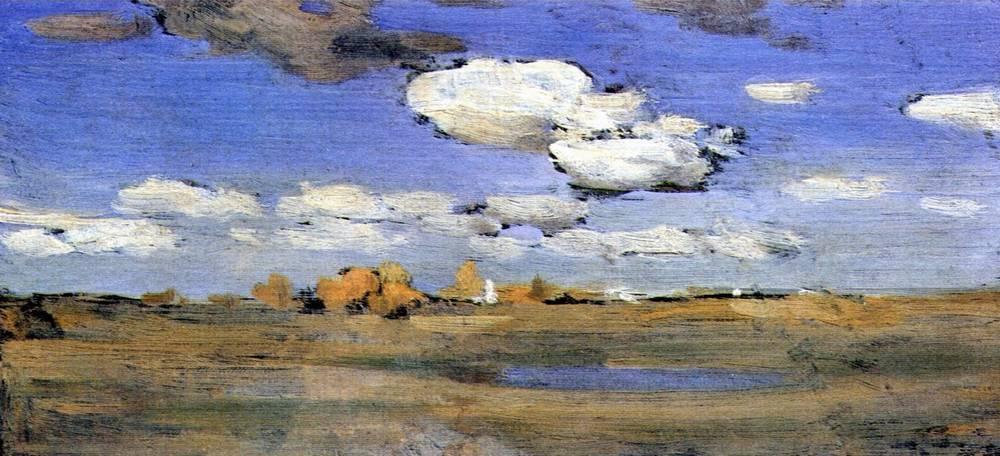 Ясный осенний день. 1898-1899