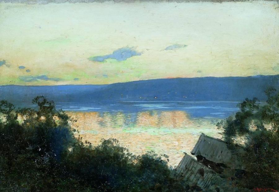 2 Вечер на Волге. 1888