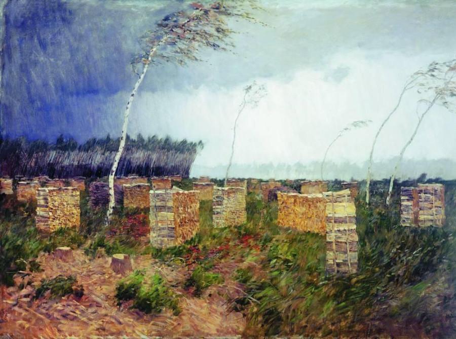 Буря. Дождь. 1899
