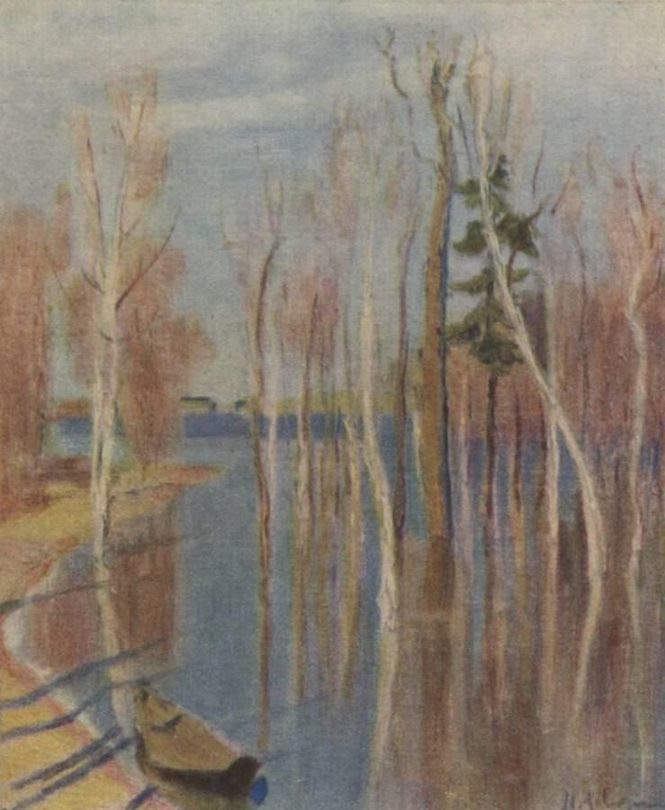 Весна. Большая вода. 1896