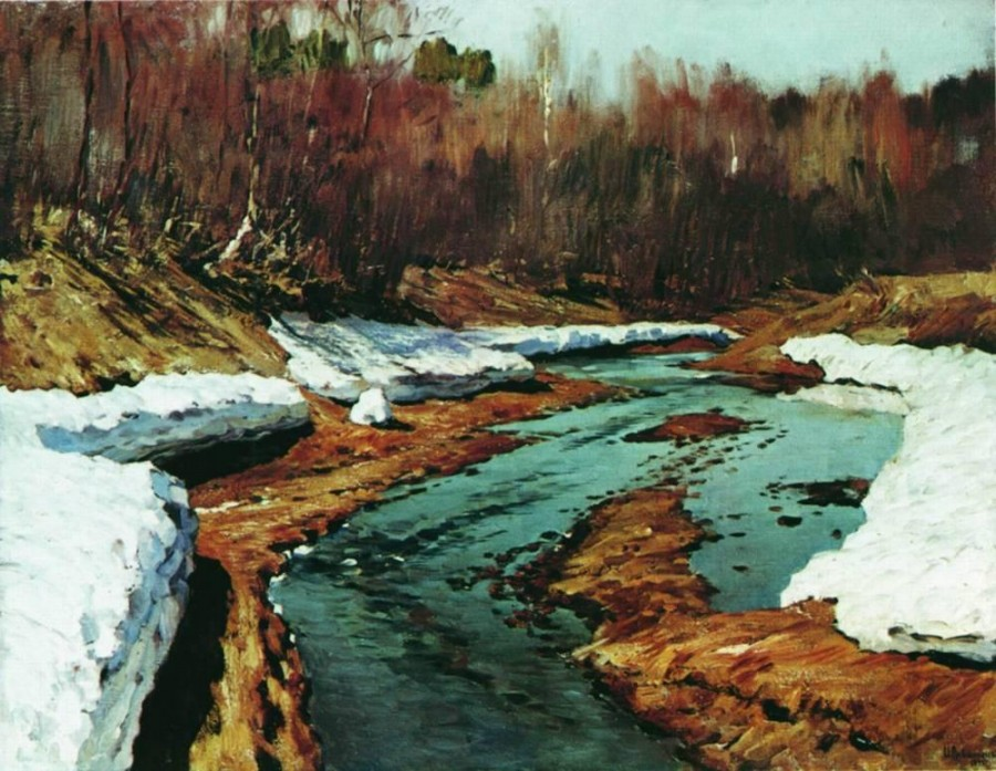 Весна. Последний снег1. 1895