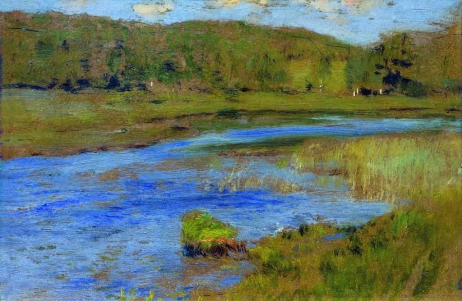 Ветреный день. 1898-1899