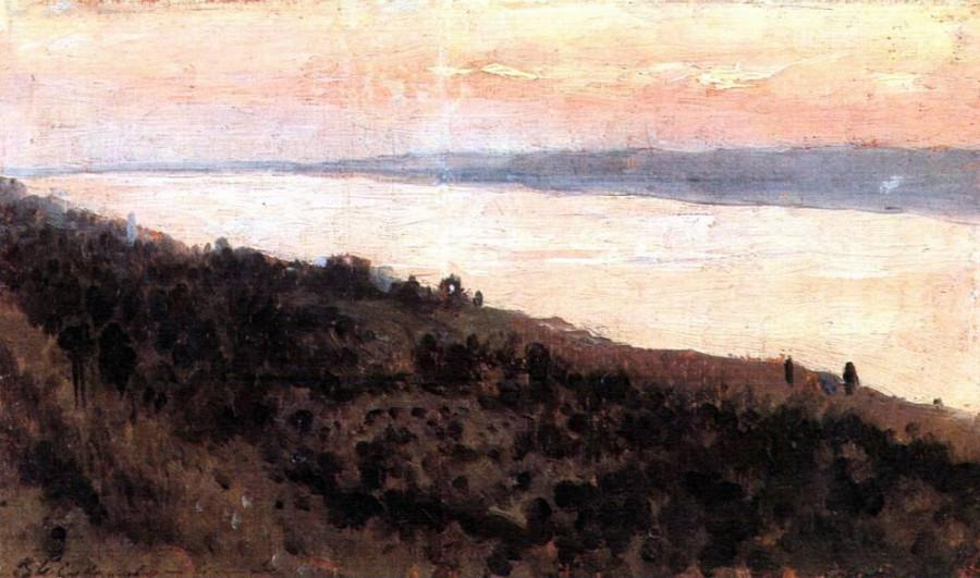 Вечер. Золотой Плёс1. 1889