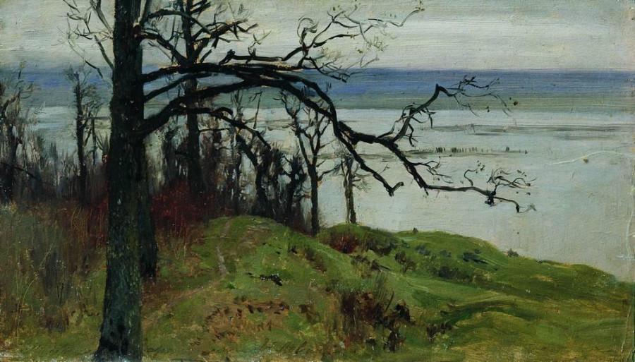 Волга с высокого берега. 1887