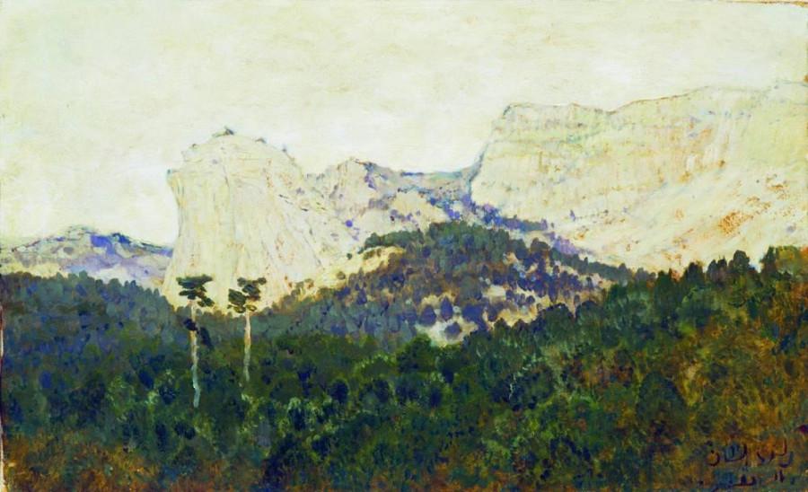 Горы. Крым. 1886