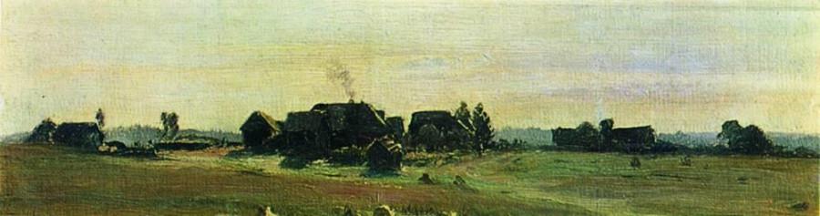 Деревня. 1888