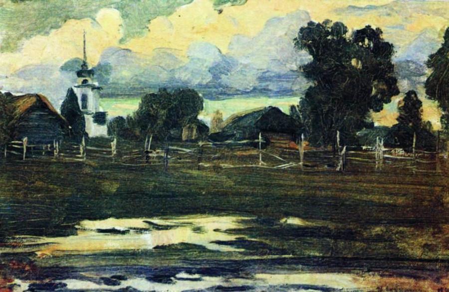 К вечеру. 1899