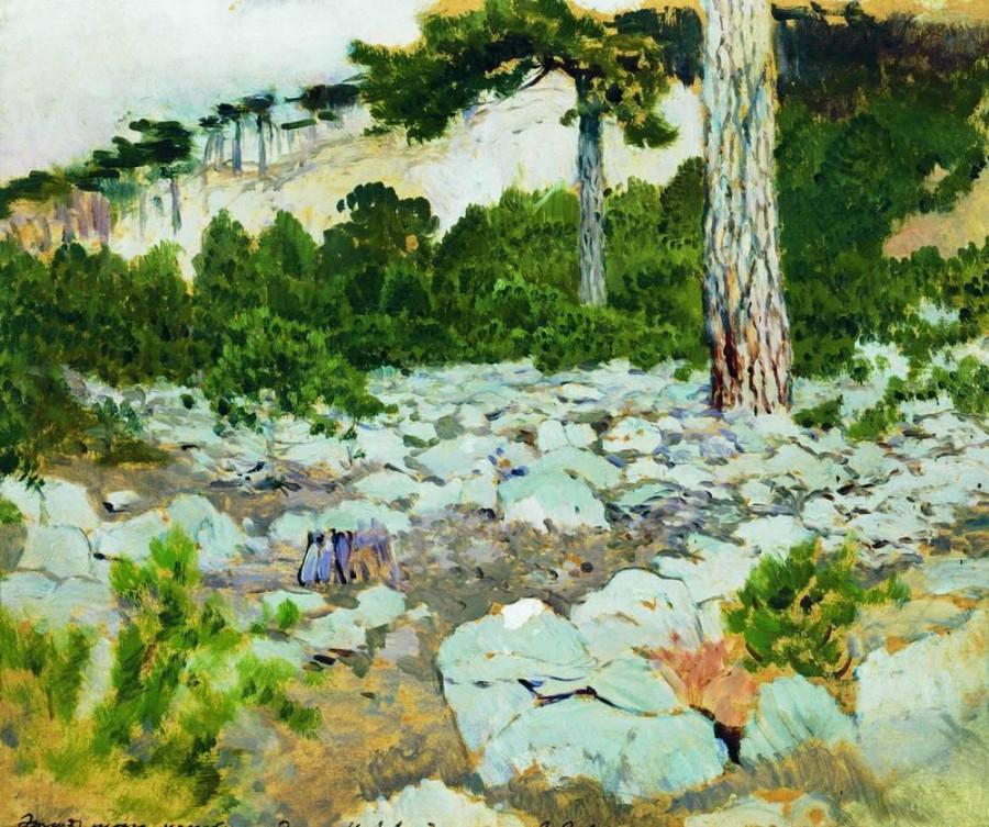 Крым. В горах. 1886