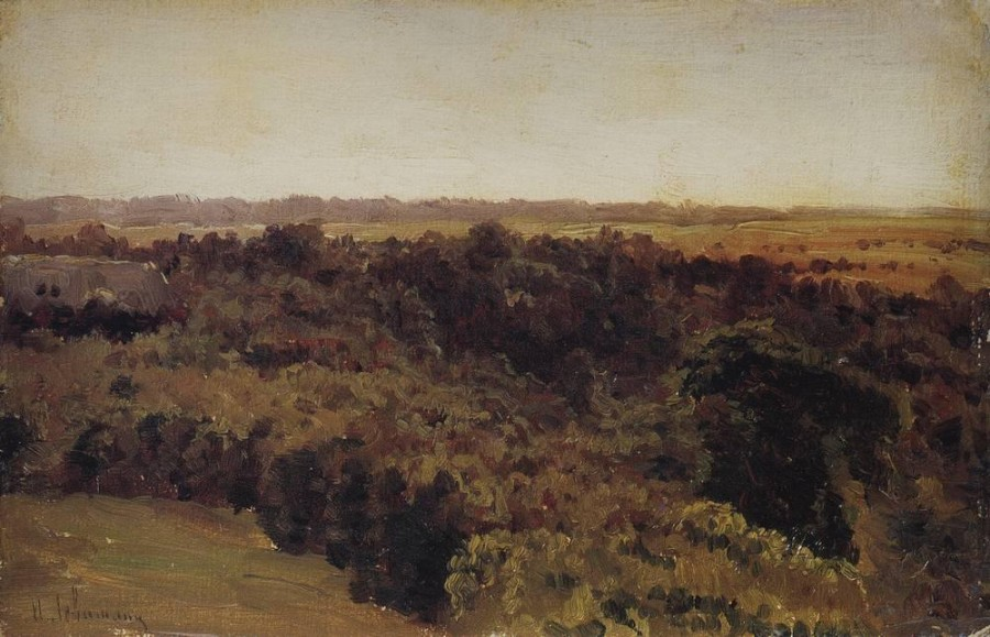 Лесок. 1880-е