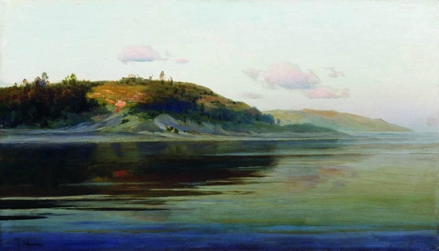 Летний вечер. Река. 1890-1896