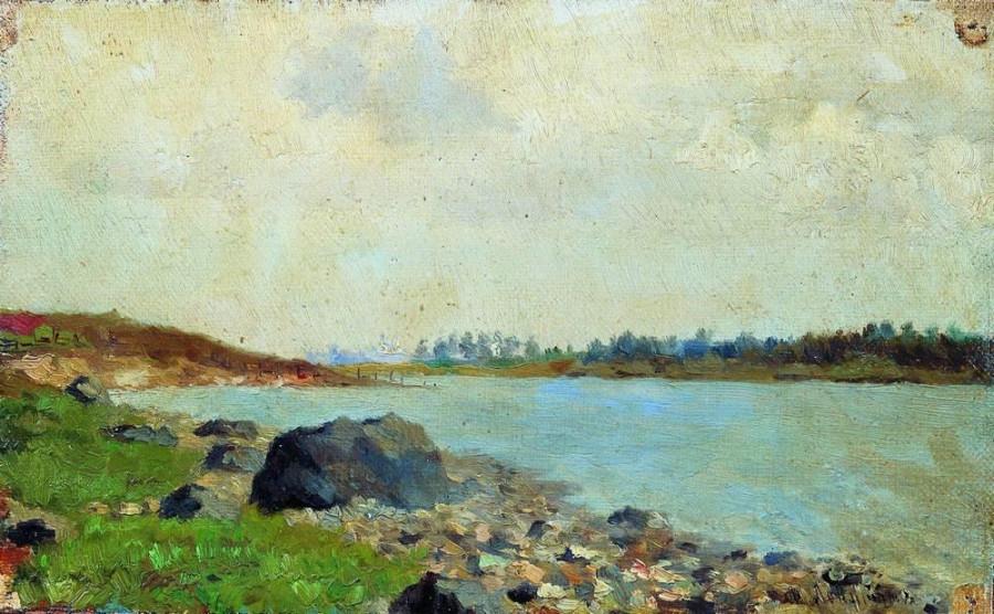 На Москве-реке. 1877