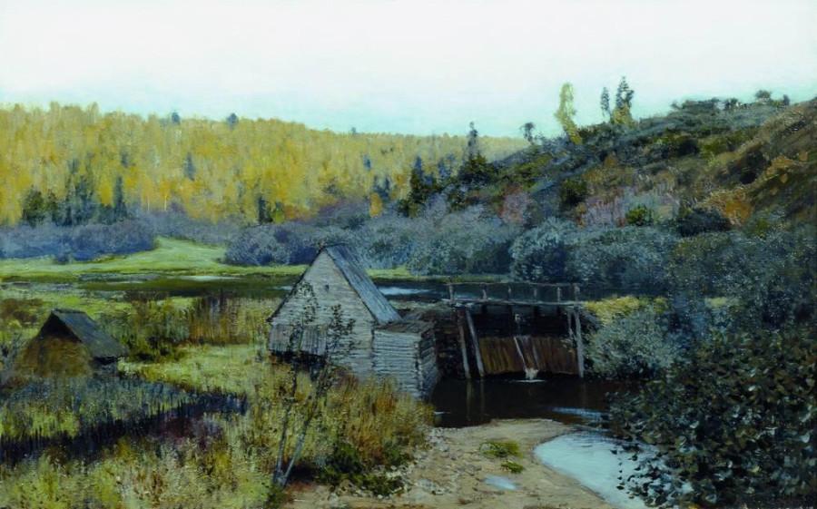 Осень. Мельница. Плёс. 1888