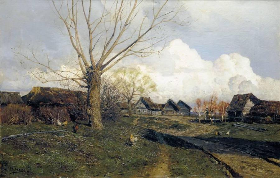 Саввинская слобода под Звенигородом1. 1884