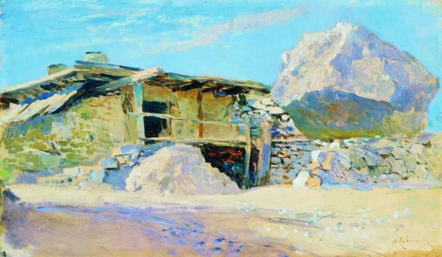 Сакля в Алупке. 1886