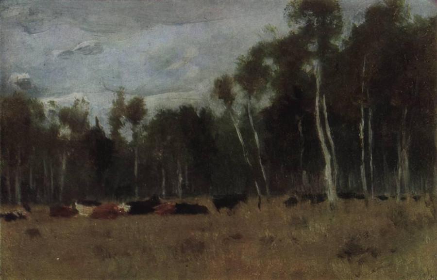 Стадо. 1889-1890