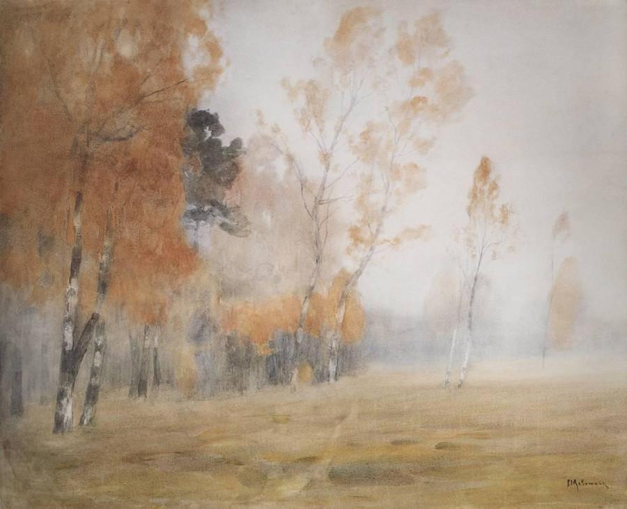 Туман. Осень. 1899