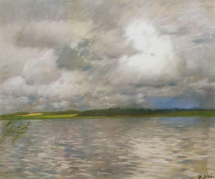 Хмурый день. 1895