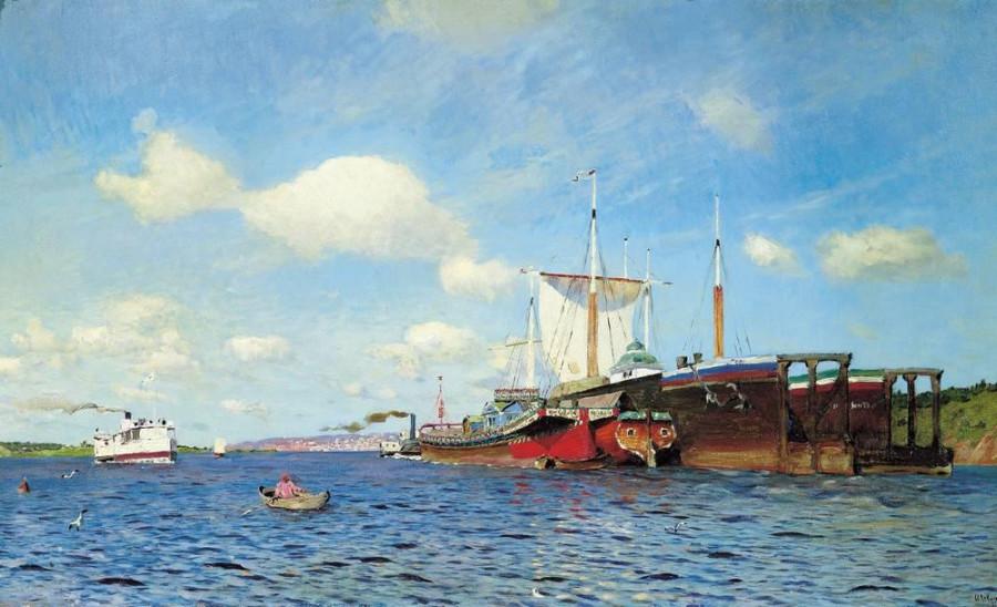 5 Свежий ветер. Волга. 1895