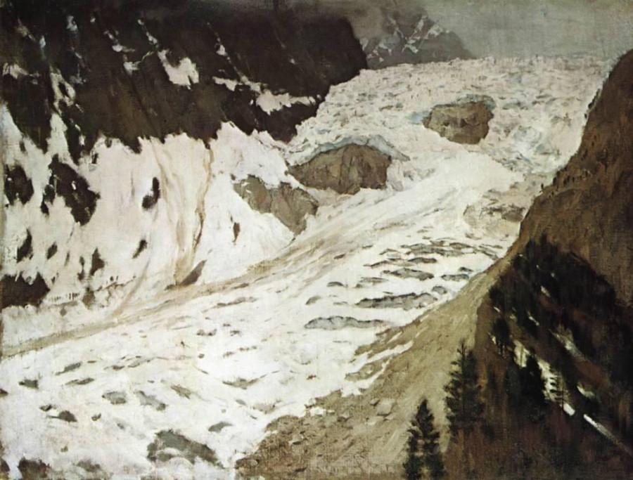 Альпы. Снега. 1897