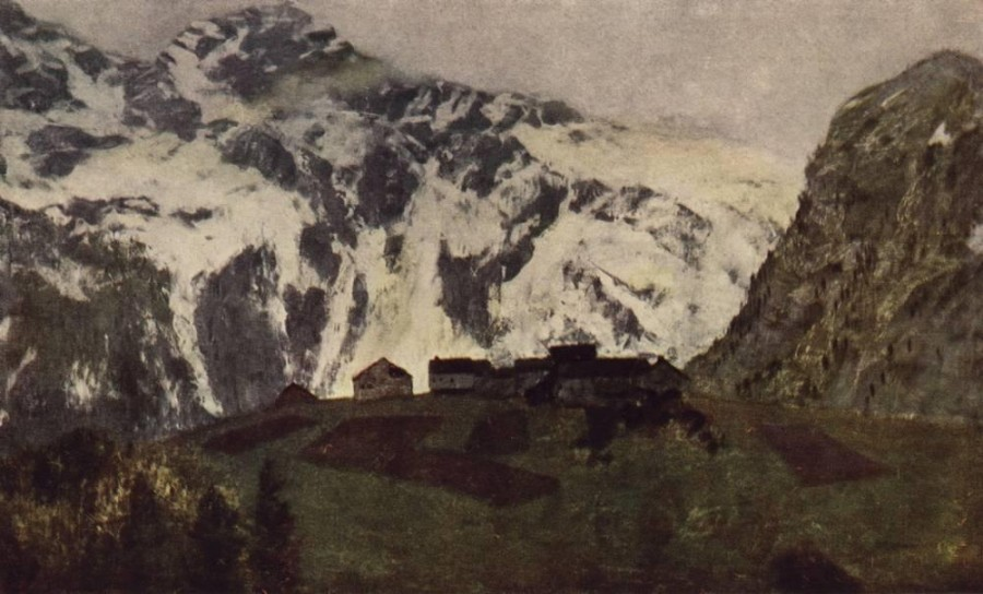 В Альпах. 1897