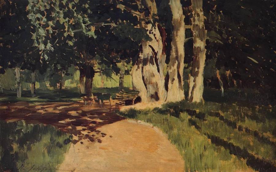 В парке2. 1895