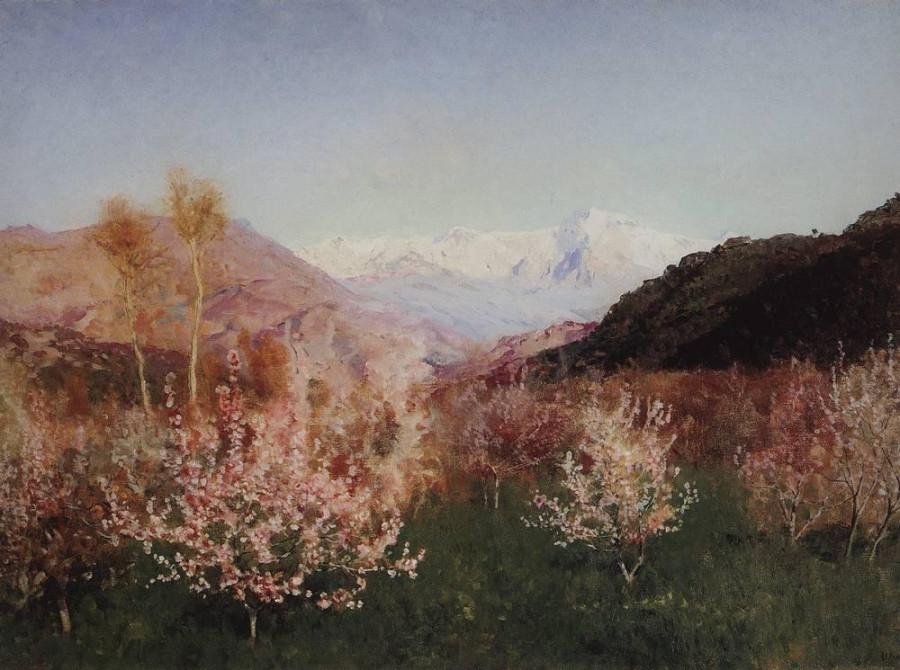 Весна в Италии1. 1890