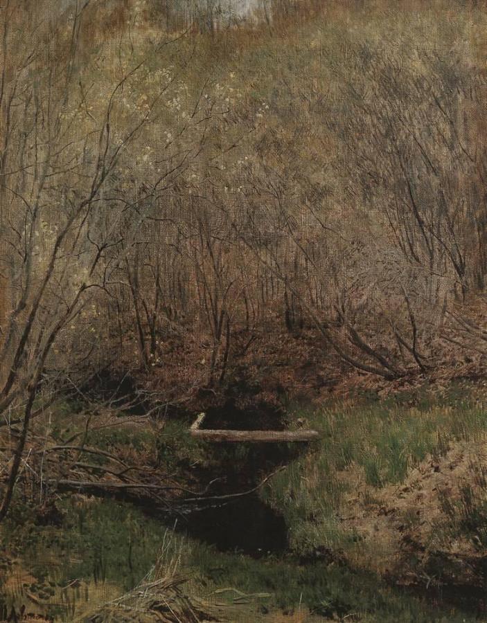 Весной в лесу. 1882