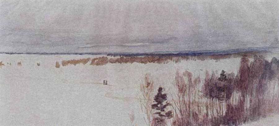 Зима. 1895