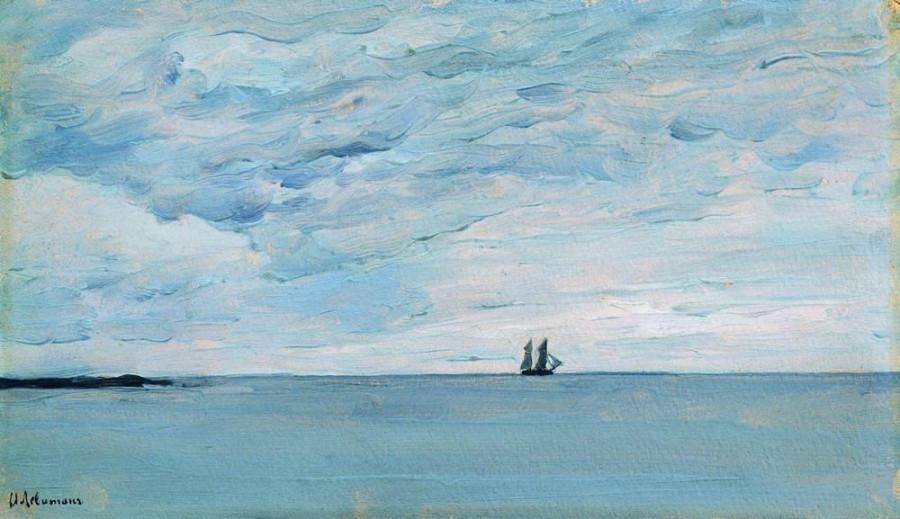 Море у финляндских берегов. 1896
