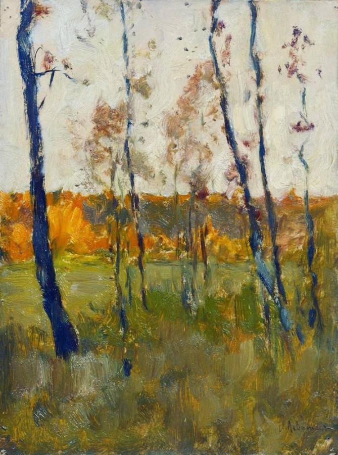 Осень. 1899