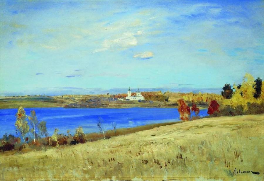 Осень. Река. 1898-1899