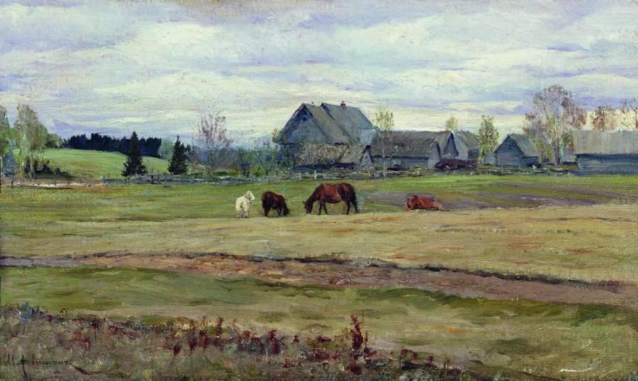 Пасмурный день. 1890