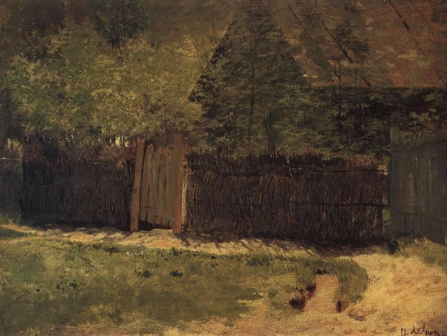 Первая зелень. Май1. 1883