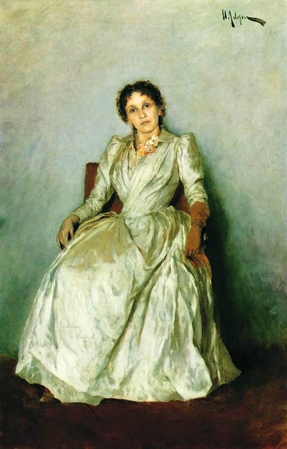 Портрет Софьи Петровны Кувшинниковой. 1888