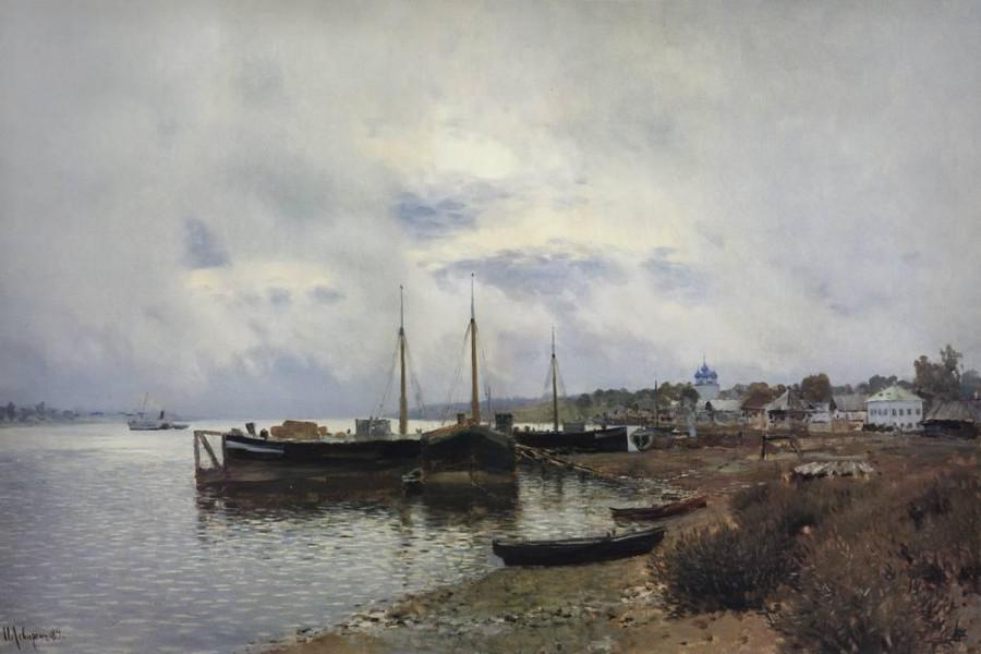 После дождя. Плёс. 1889