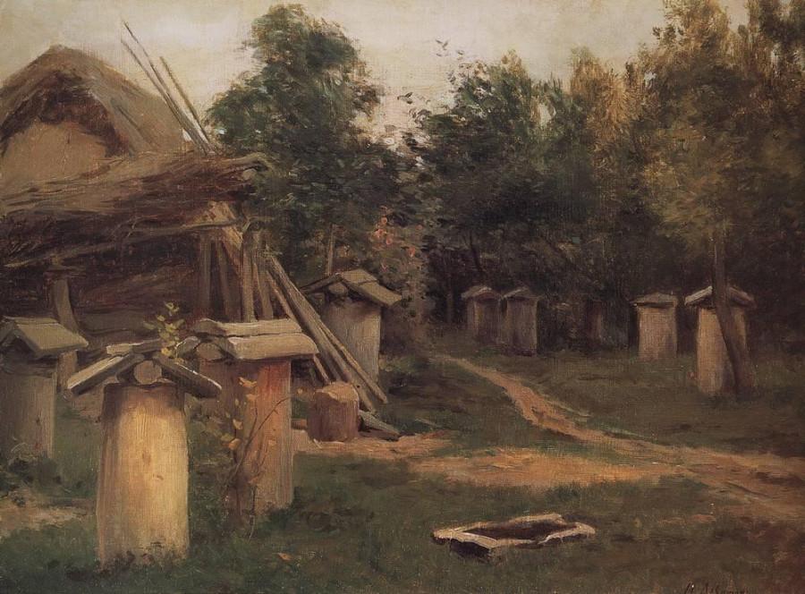 Пчельник. 1880-е