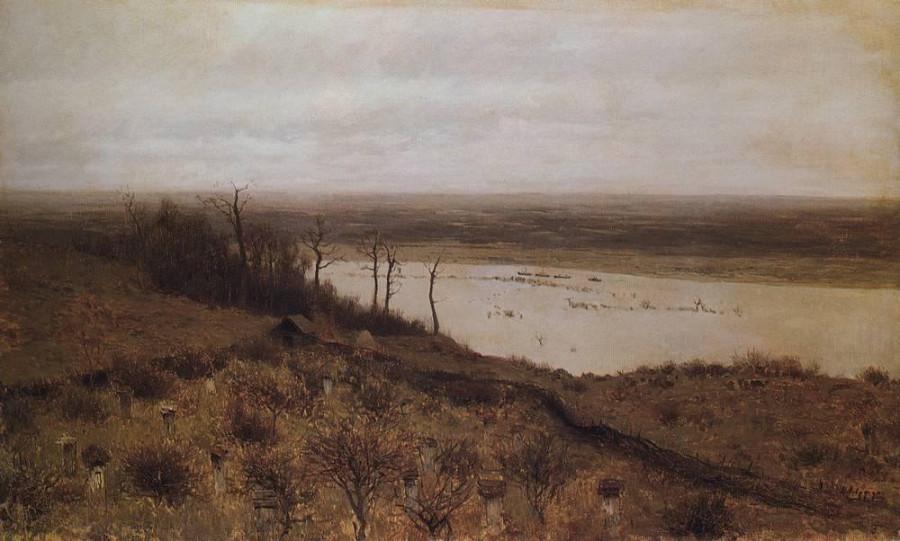 Разлив на Суре. 1887