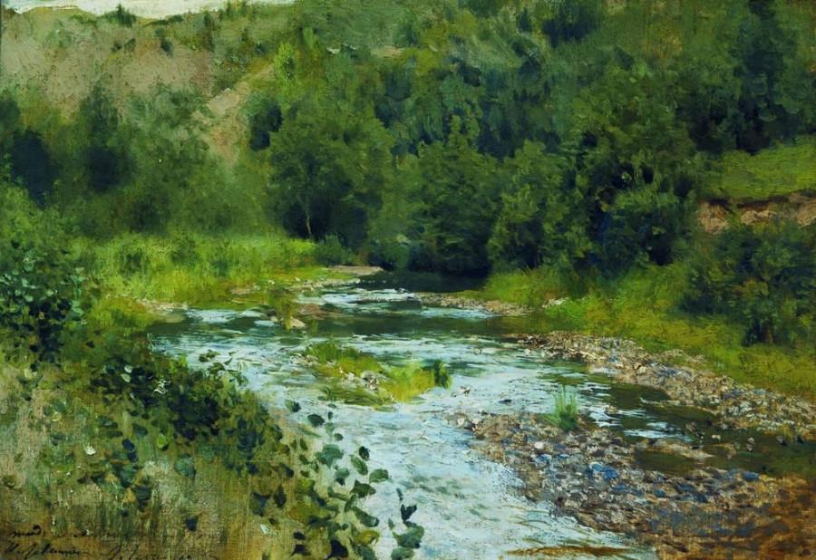 Речка. 1888